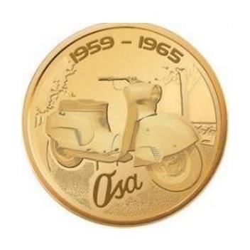 NUMIZMATY ORLEN Ikony Motoryzacji Motocykle OSA