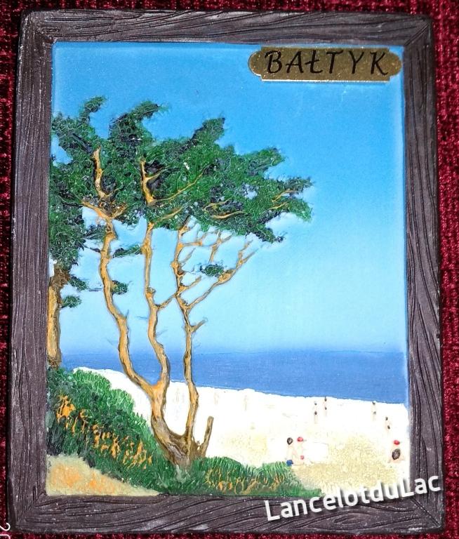 Obrazek w ramce 10x8 Bałtyk morze sun charytatywna