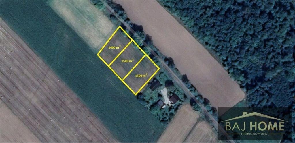 Działka Grudziądz, grudziądzki, 1400,00 m²