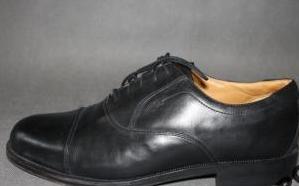 Buty Clarks 11 UK EU 46 czarne garniturowe biurowe