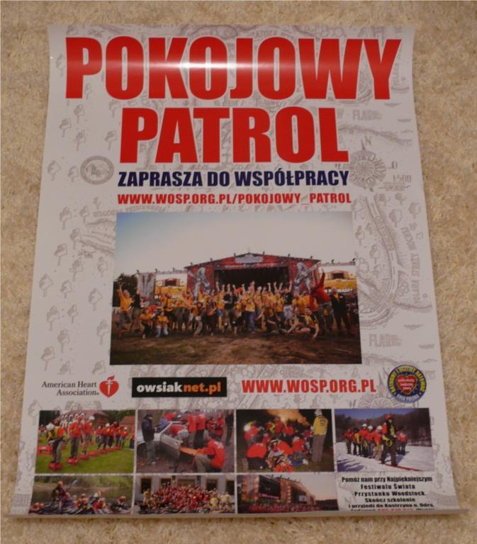 Pokojowy Patrol PLAKAT