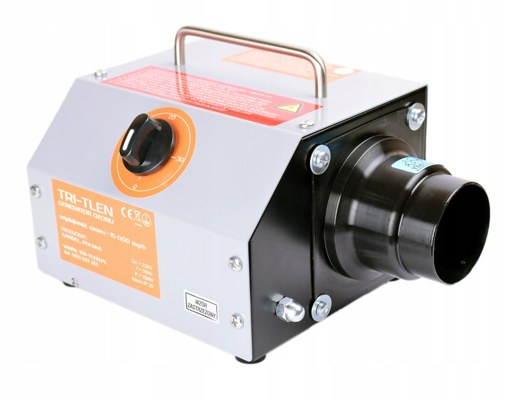 OUTLET TRI-TLEN TR-15 generator ozonu 15g/h POLSKI