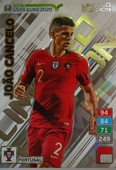 Panini Road to Euro 2020 Limited Edition CANCELO