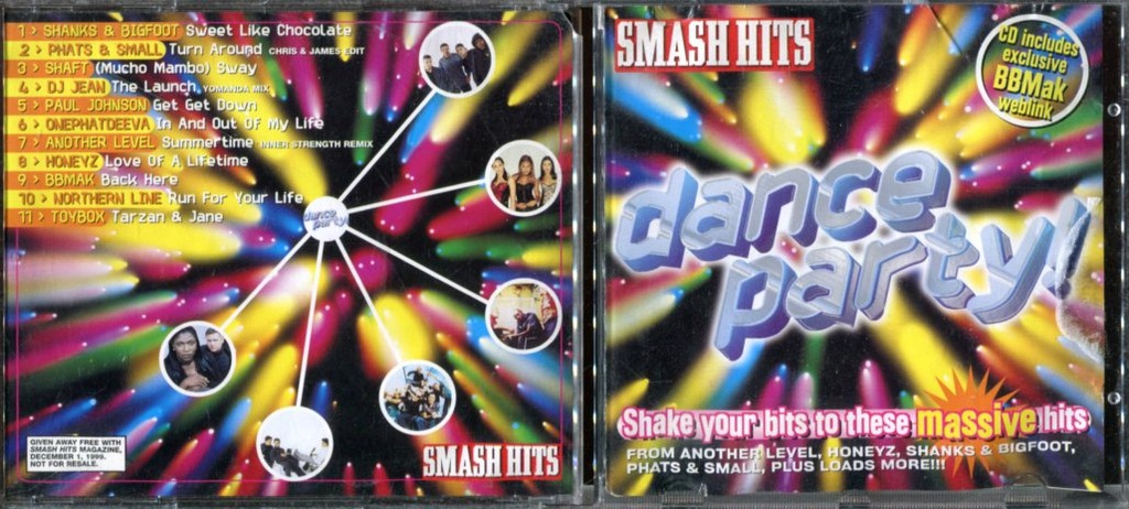 DANCE PARTY - SMASH HITS / XD3859