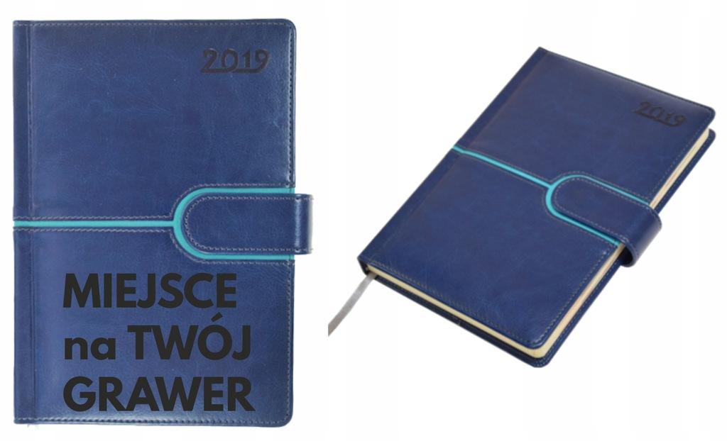 Kalendarz Ksiazkowy Z Klipsem Z Grawerem 50 Sztuk 7685341869 Oficjalne Archiwum Allegro