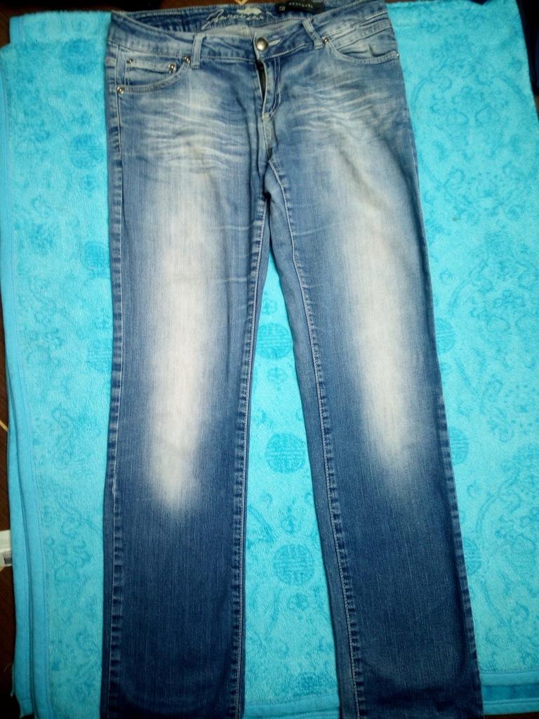 Spodnie damskie jeansy L Reserved