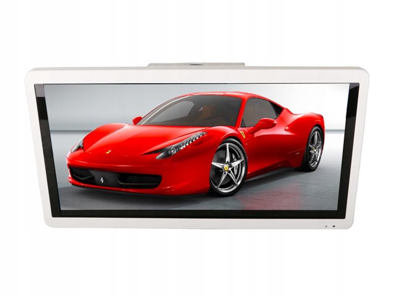 Monitor naścienny LED 18' HD HDMI Video-IN 12V 24V
