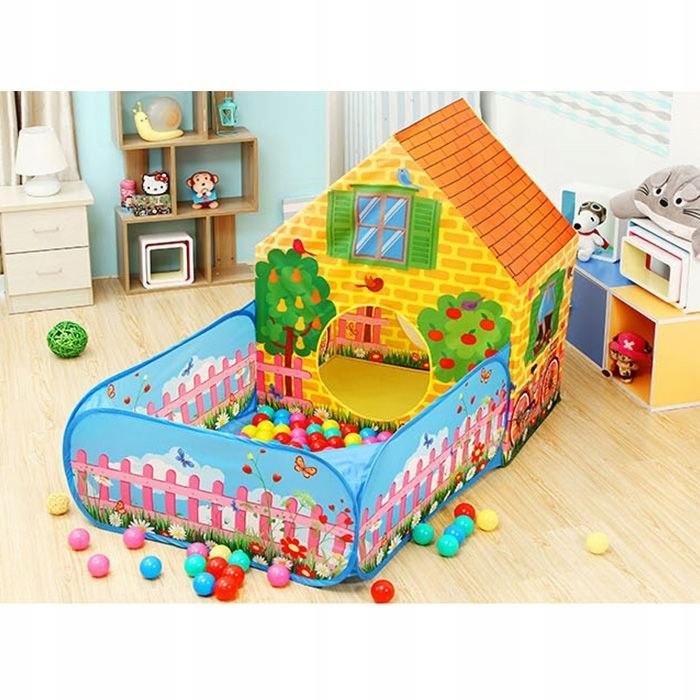Namiot domek suchy basen dla dzieci