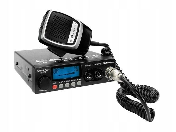 CB Radio ALAN-78 PLUS MULTI 100% sprawne nieużywan