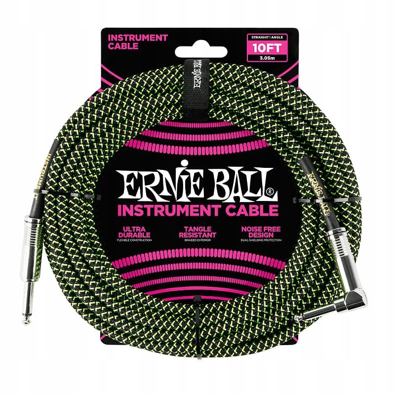 Rewelacyjny Kabel Gitarowy Ernie Ball 3,05 m