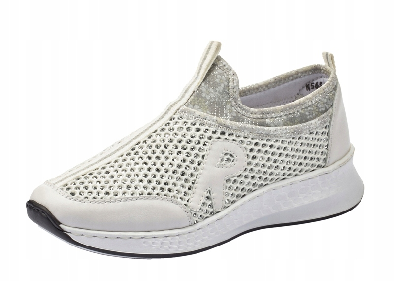 Rieker N5654-81 36 sneakersy półbuty z siatki