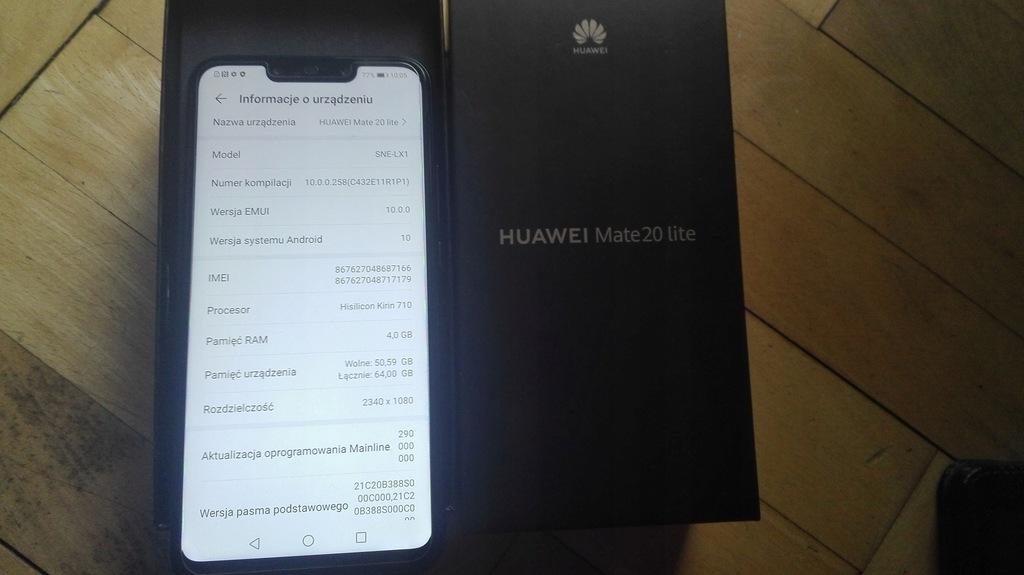 Huawei Mate 20 LITE 4GB 64GB Etui LX1