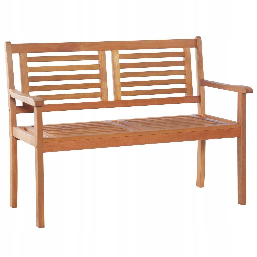 Dwuosobowa ławka ogrodowa, 120 cm, lite drewno 8531377481