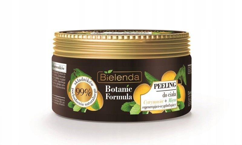 Bielenda Botanic Cytrynowiec Mięta Peeling