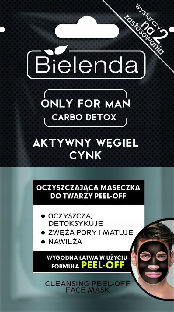 BIELENDA Only for Man Carbo Detox Maseczka oczyszc