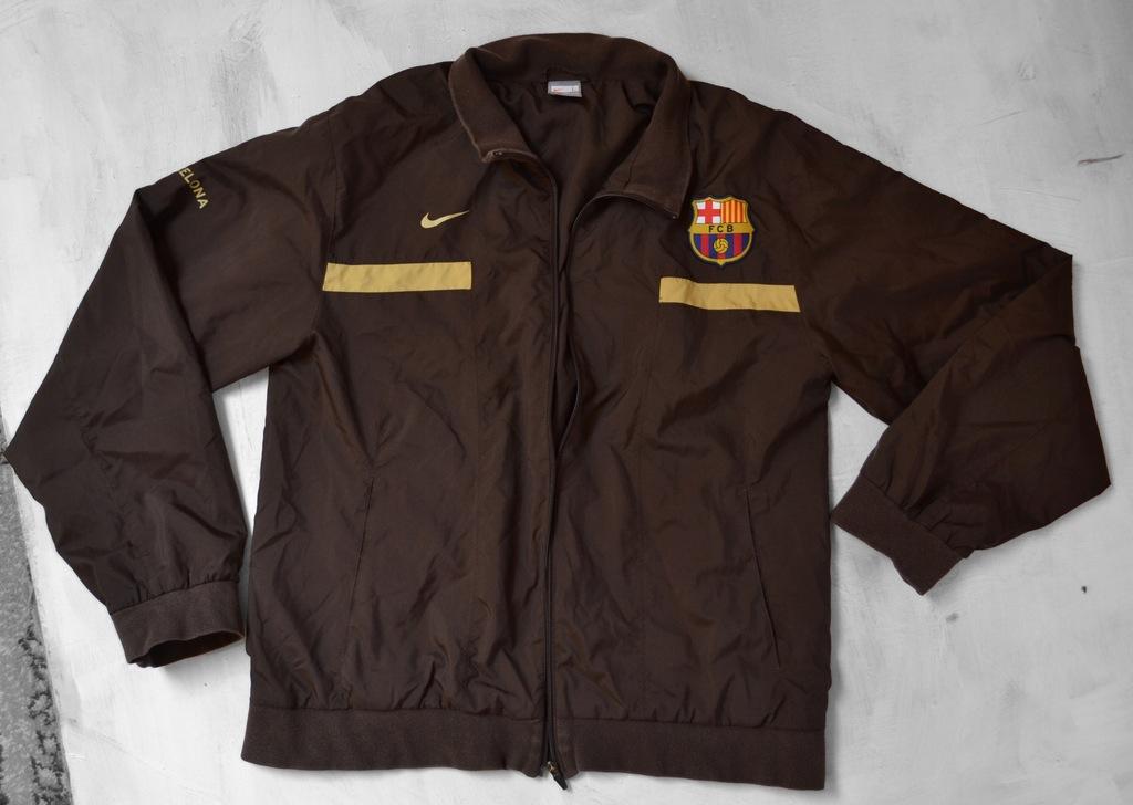 brązowa kurtka Nike FC Barcelona L 183 cm