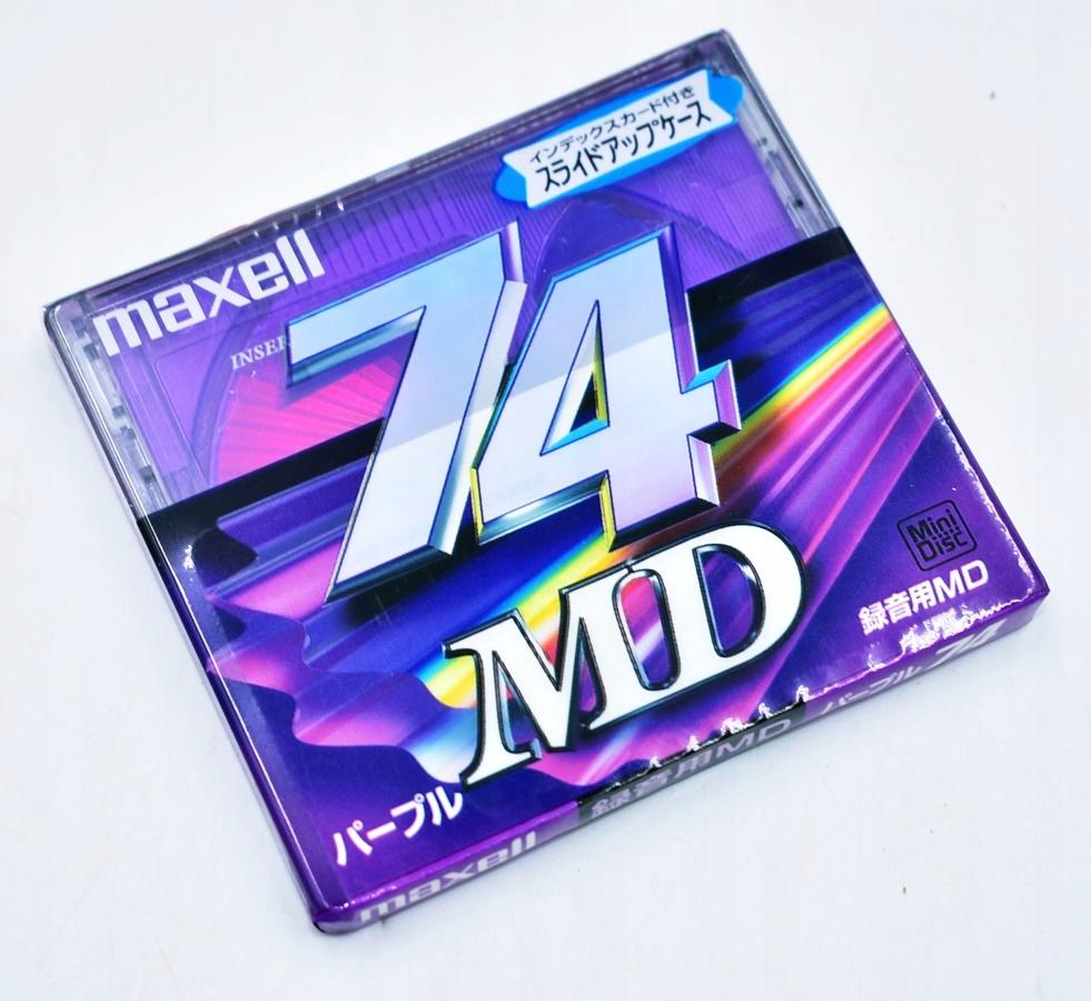 6254-6 ...MAXELL 74 MD... a#g PLYTA CD NOSNIK