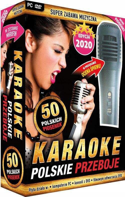 Karaoke Polskie przeboje edycja 2020 z mikrofonem