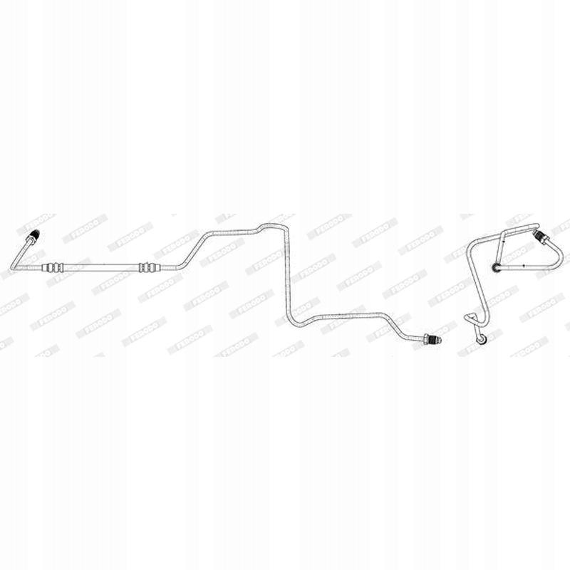 Przewód hamulcowy Ferodo Renault: Espace JK0/1