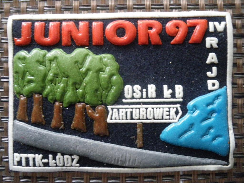 Arturówek 1997 IV Rajd Junior Naszywka PTTK Łódź