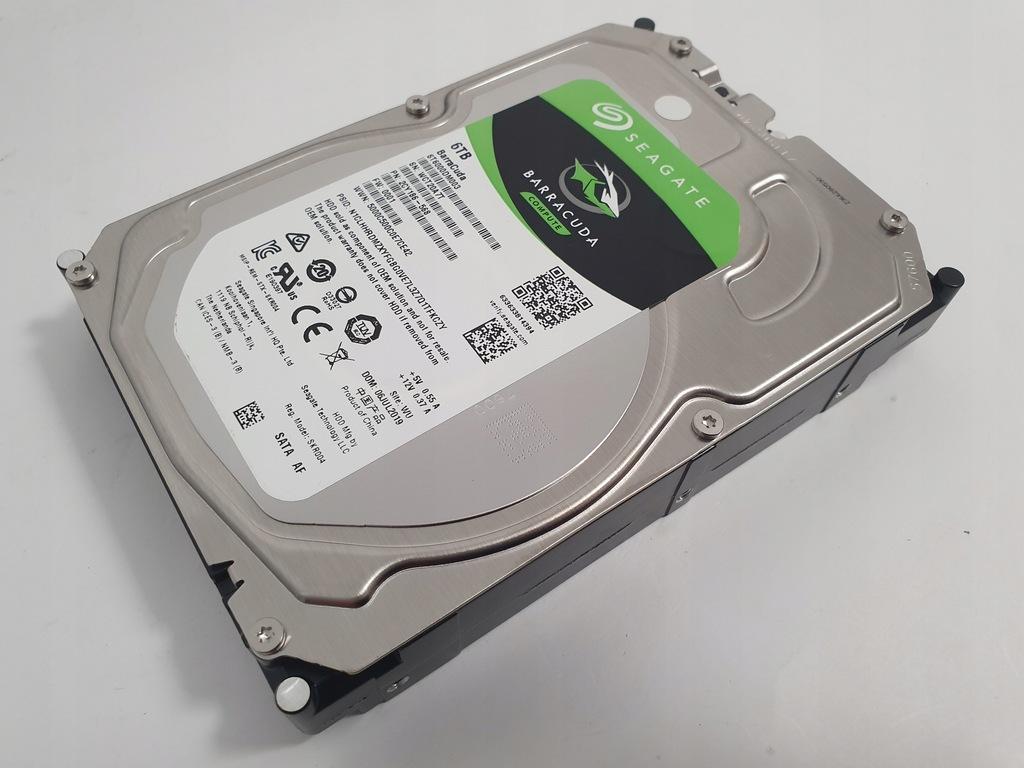 SEAGATE BARRACUDA 6TB 3.5'' ST6000DM003 SATA3 FV23