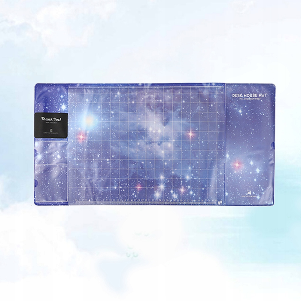Starry Sky Pattern Gaming Mouse Mat Multifunctiona
