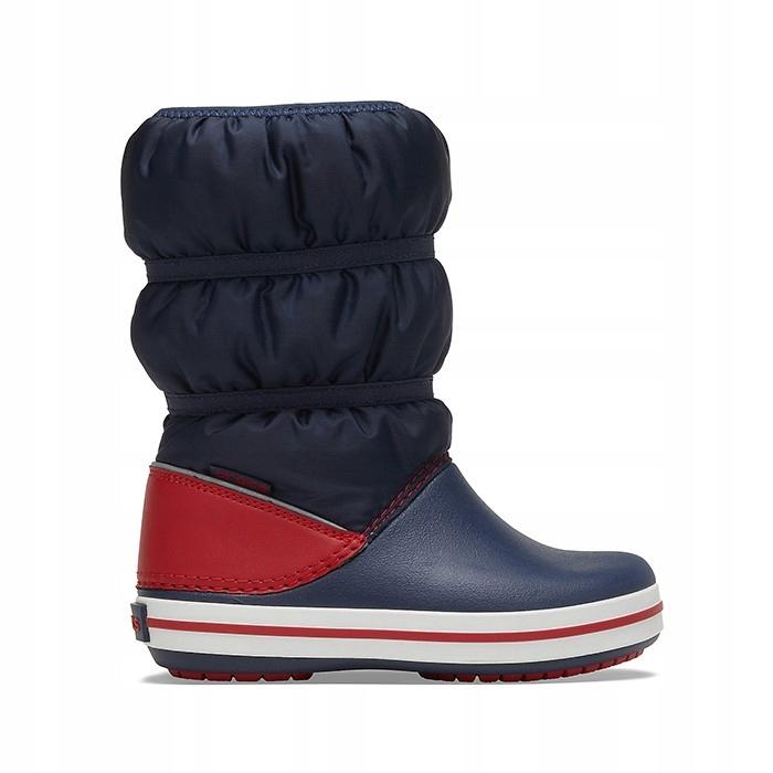 Buty Crocs Winter Boot 206550 NAVY/RED 24-25