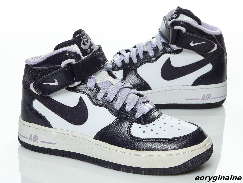 buty damskie Nike Air force 1 MID gs 518218 104