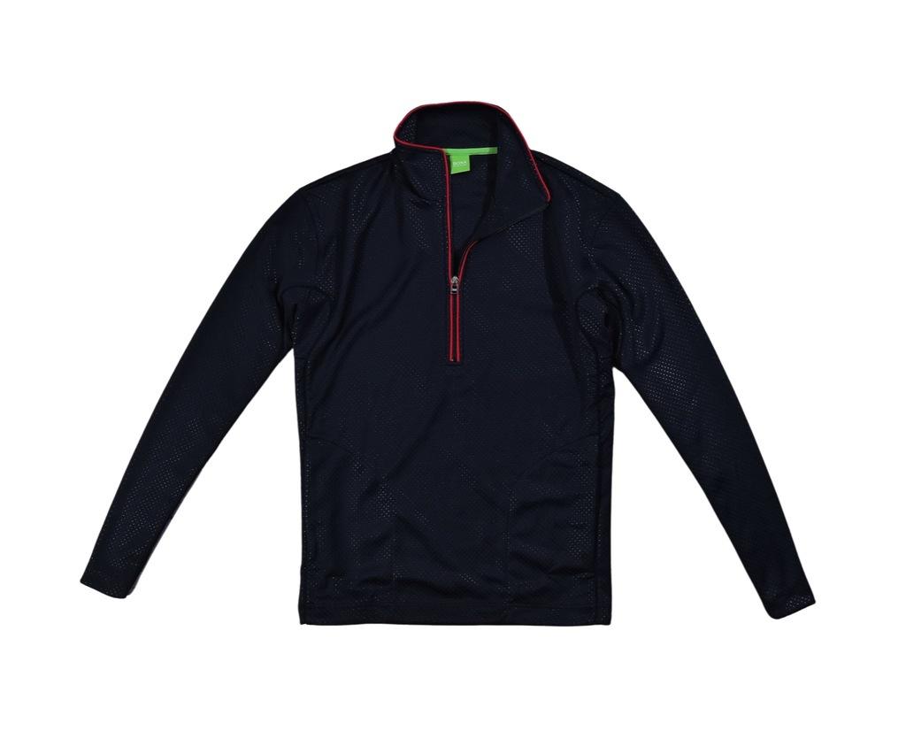 HUGO BOSS GREEN Męska Bluza Softshell Half Zip / M
