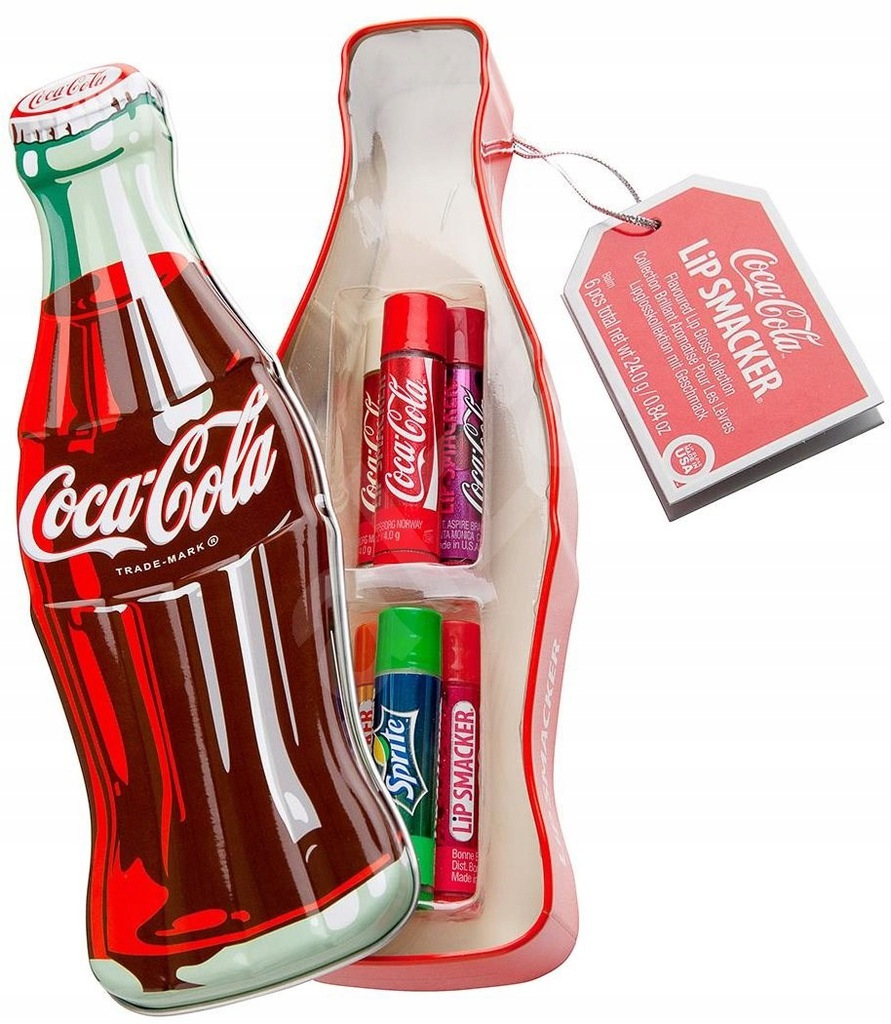 Lip Smacker Zestaw Pomadek Cola Fanta Sprite But3d 7928272456 Oficjalne Archiwum Allegro