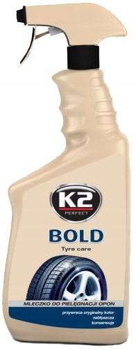 K2 BOLD 700 ML - NABŁYSZCZACZ DO OPON W ATOMIZERZE