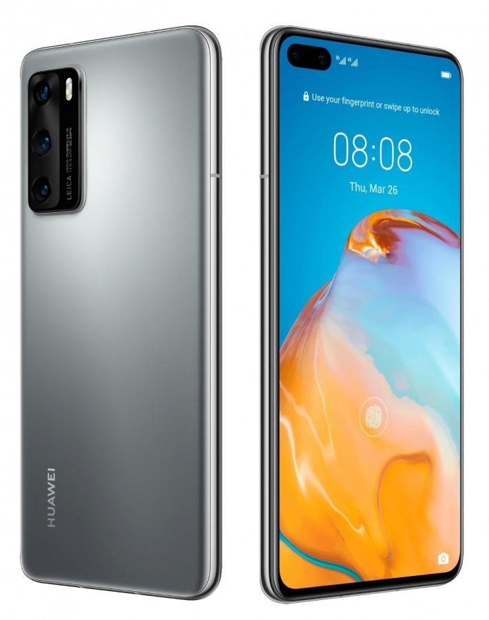 Huawei P40 5g Ana Nx9 8 128gb Ds Silver 9433600459 Oficjalne Archiwum Allegro