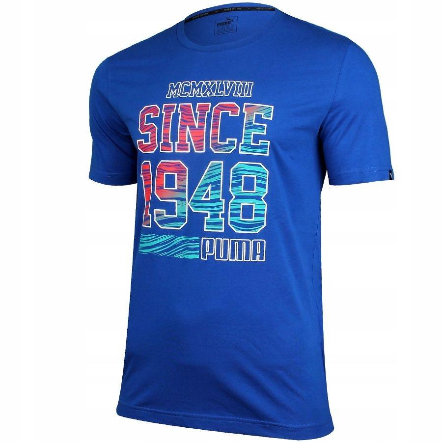 Koszulka Puma Fun Summer Logo Tee Surf 836592 16 S