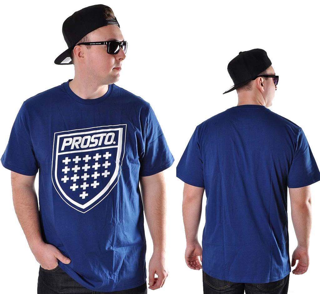 Koszulka 3XL Prosto Klasyk SHIELD XX grana t-shirt