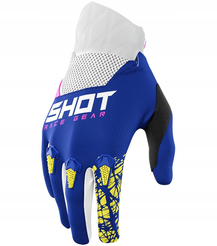 Rękawice CROSS,ENDURO,MTB SHOT DEVO NAVY S / 8