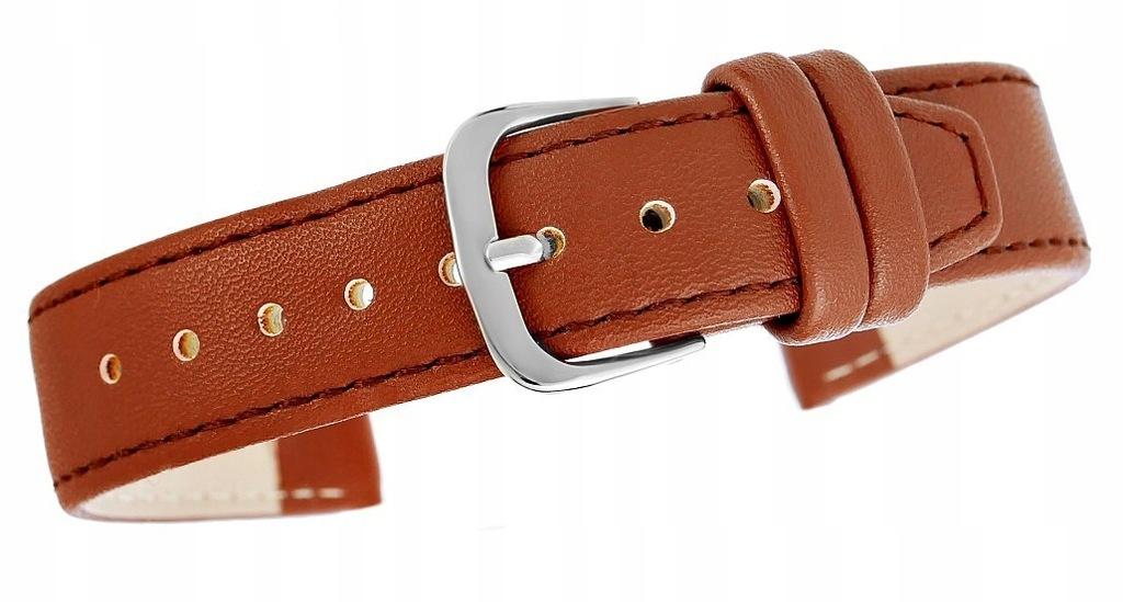 Pasek do zegarka CLASSIC - skóra 18 mm 4999-18XXL-