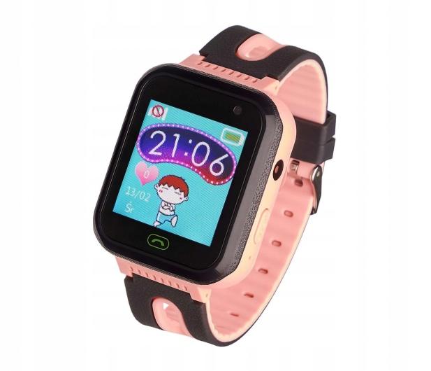 OUTLET Smartwatch Garett Kids Fine czarno-różowy