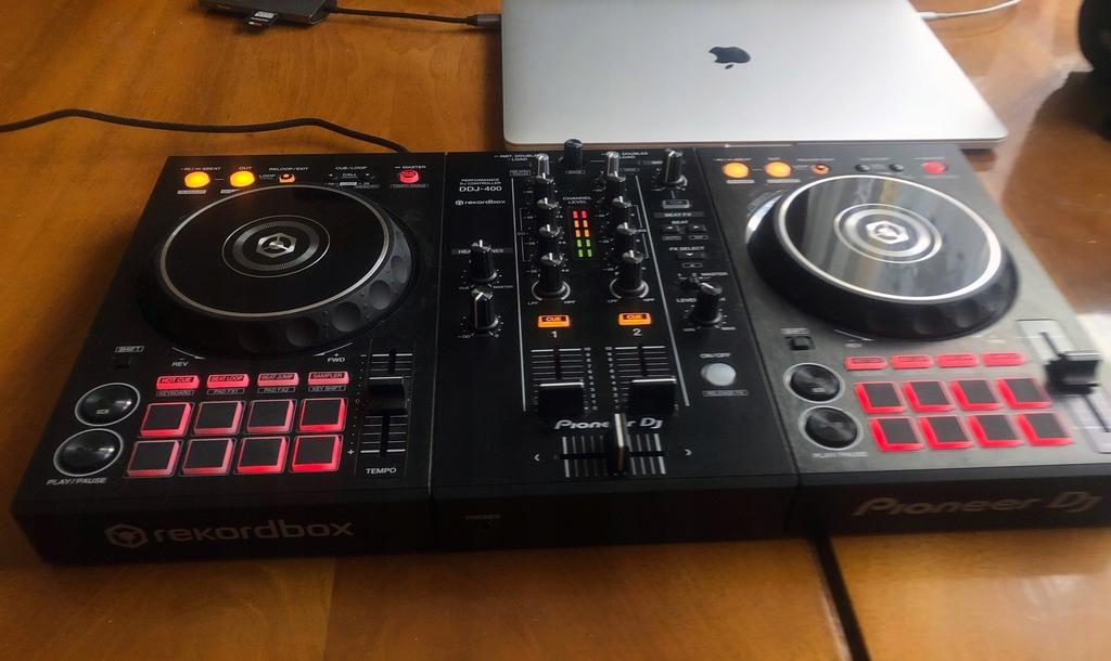 Pioneer DDJ-400 + KEY - Kontroler DJ GW 26.03.2021