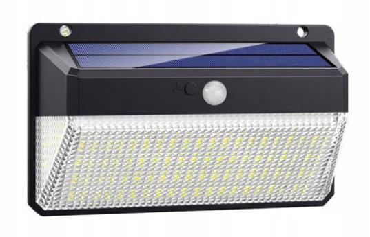 R3063 LAMPA SOLARNA Z CZUJNKIEM RUCHU 2SZT
