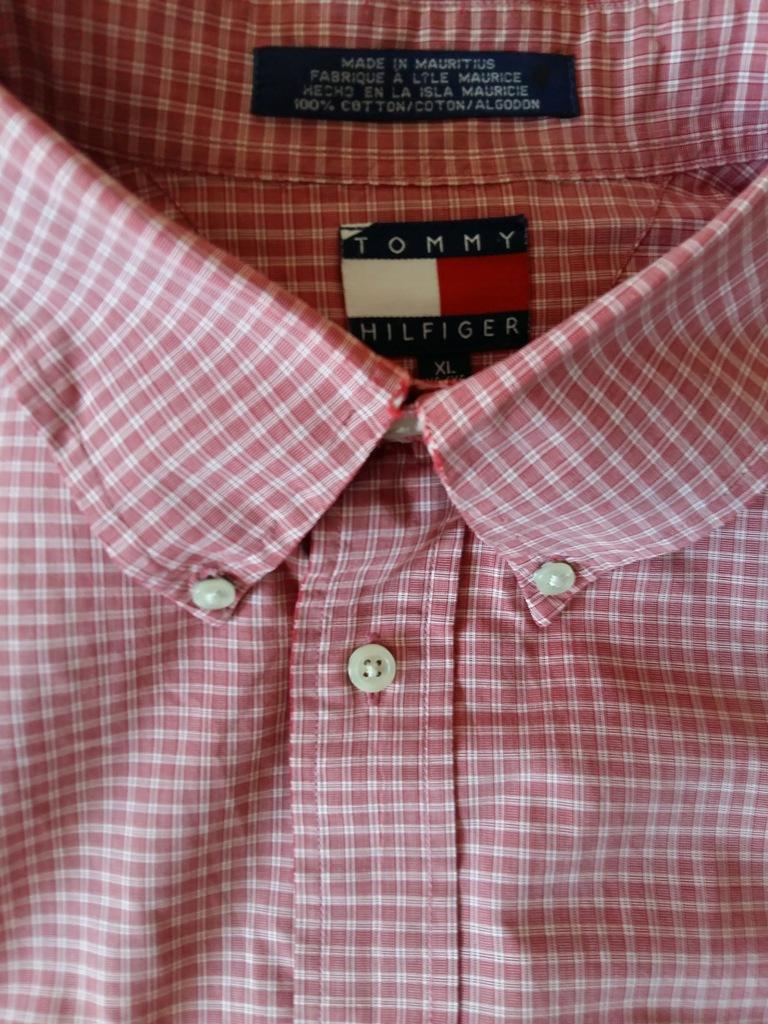 Koszula męska z dł. ręk. TOMMY HILFINGER XL