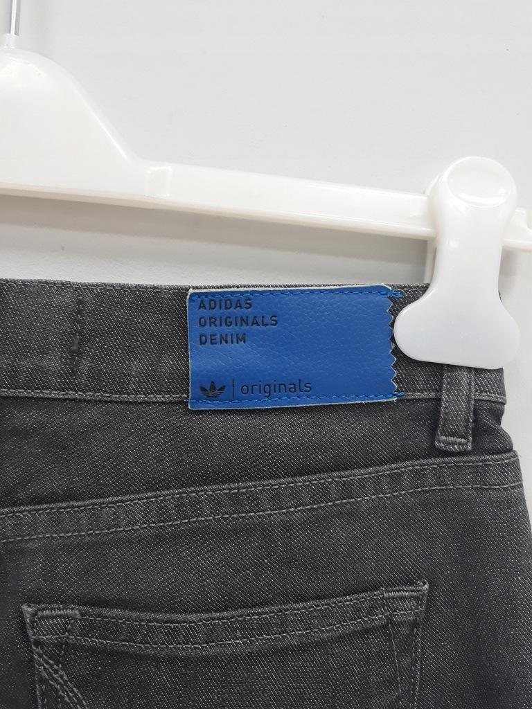 spodnie damskie adidas jeans modne K7 8084047182