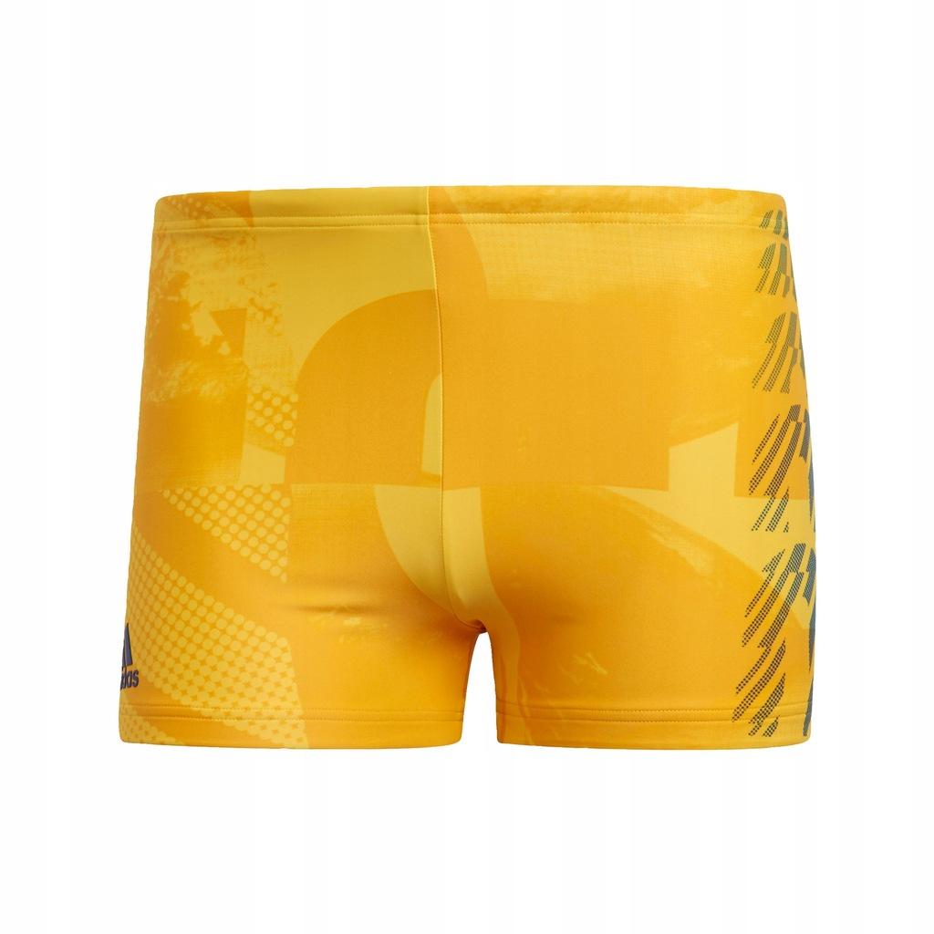 Bokserki do pływania Graphic Swim Żółty M
