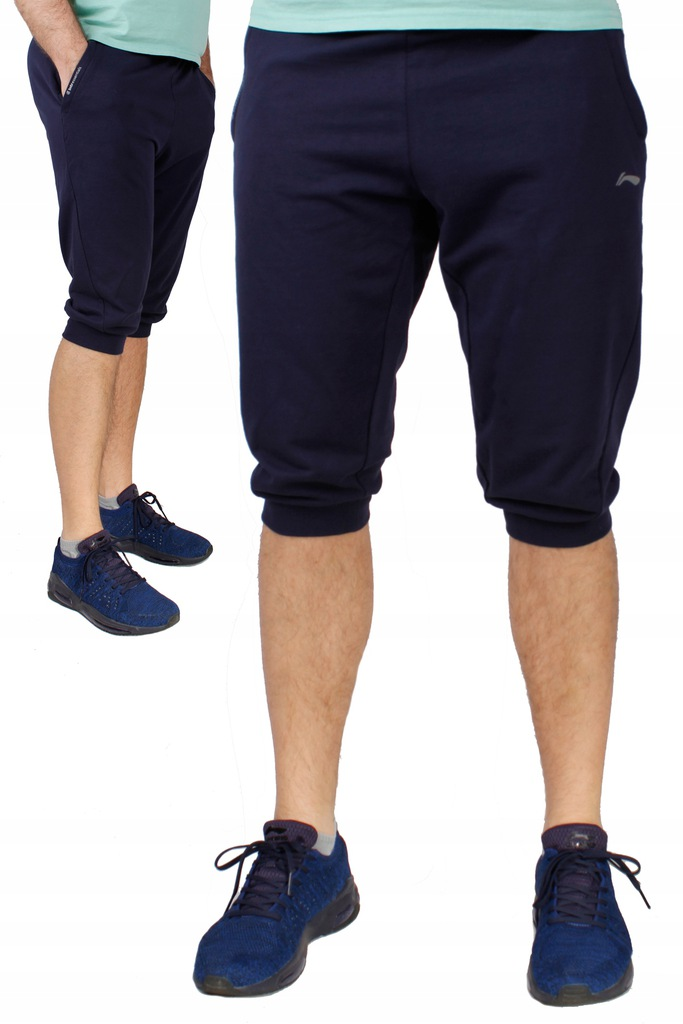 Damskie spodnie dresowe 34 Li Ning FIT GRAY