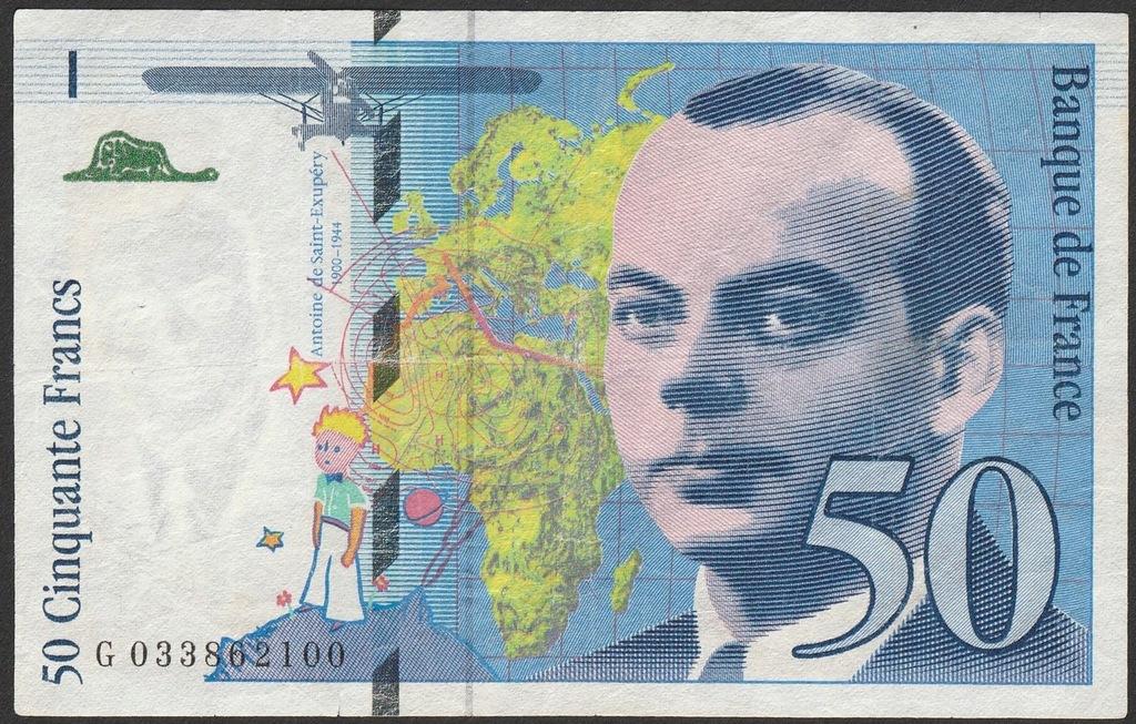 Francja 50 franków 1997 - G033
