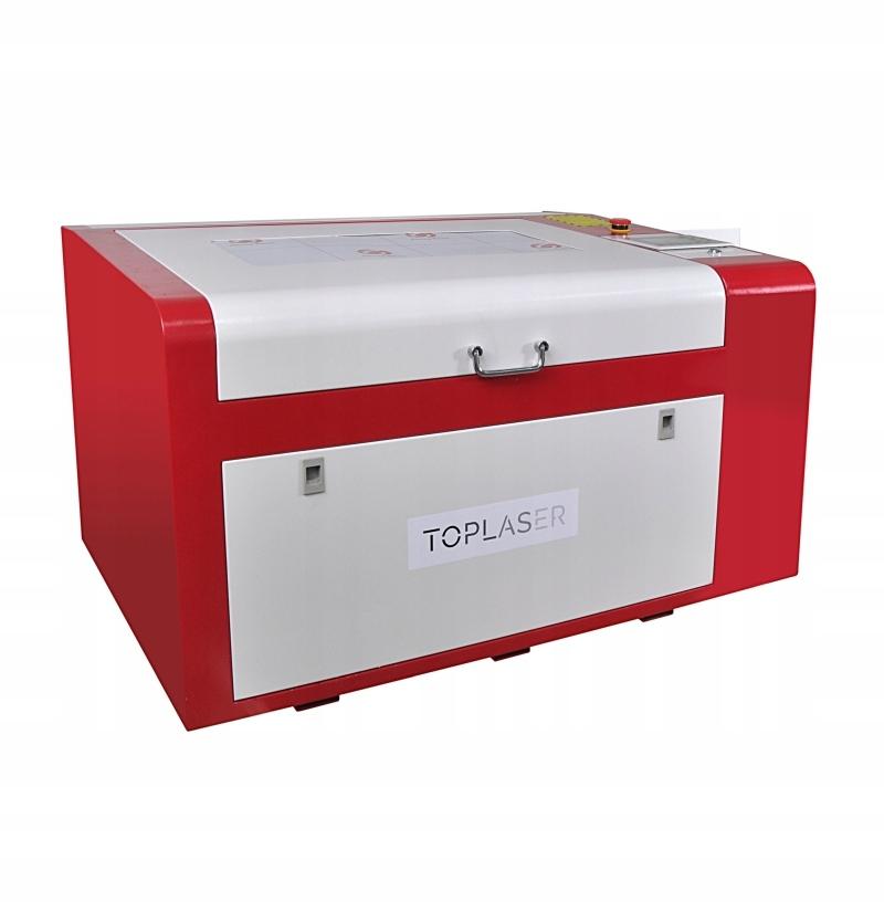 Ploter laserowy grawerka laser CO2 60x40cm 80W
