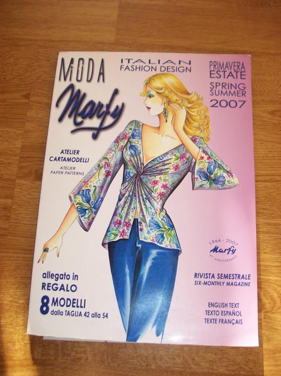 Moda Marfy Italian Fashion Design Wykroje Katalog 7583040301 Oficjalne Archiwum Allegro