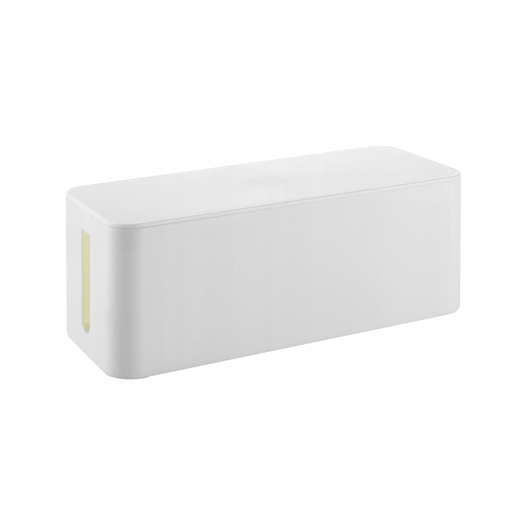 organizer do kabli - cable box L, biały