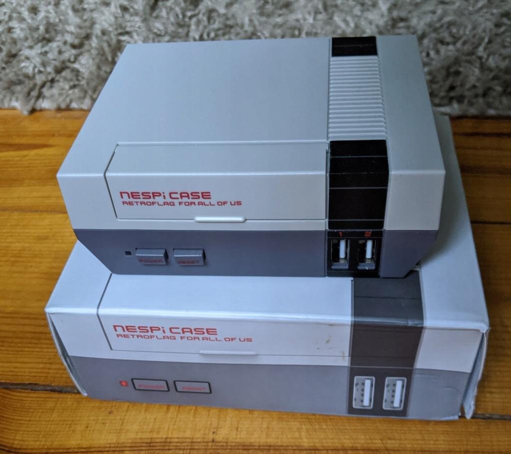 Zestaw Nespi case + Raspberry Pi 3 NES SNES