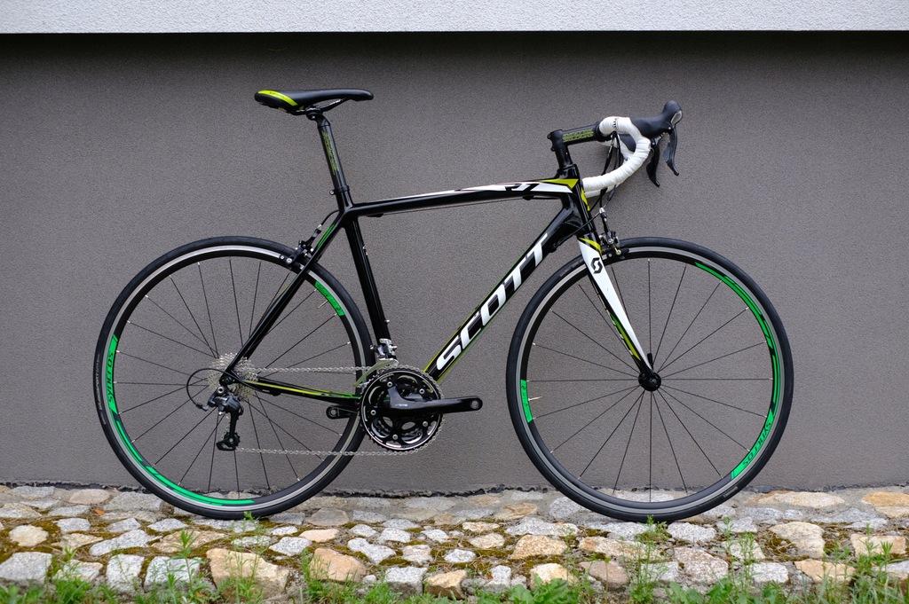 Scott CR1 10, full carbon, Ultegra, 54/M, 30s