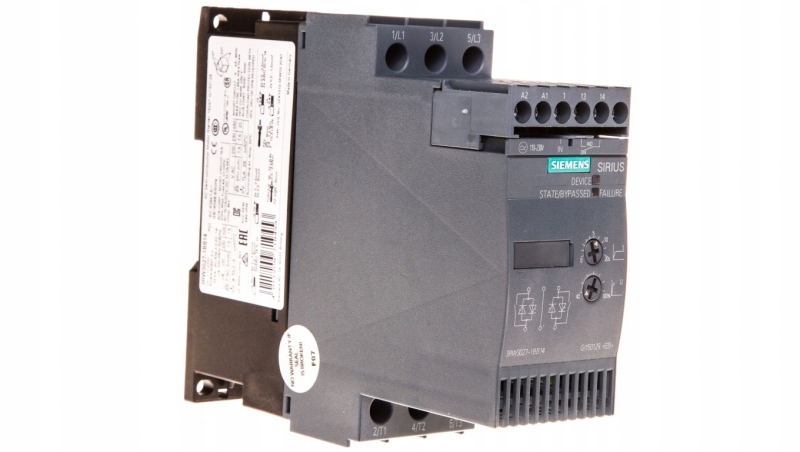 Softstart 3-fazowy 200-480VAC 32A 15kW/400V